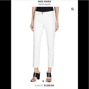 🌞 Max Mara white jeans 6